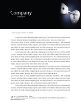 Business Concepts: Key Letterhead Template #05857