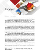Construction: Planning For Building Suburb Letterhead Template #05866