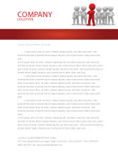 Business Concepts: Team Leader Letterhead Template #05914