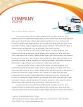Cars/Transportation: Templat Kop Surat Traktor Truk #05987
