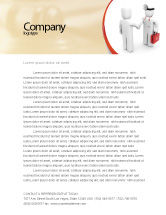 Medical: Patient and Doctor Letterhead Template #06021