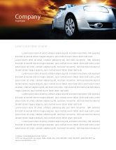 Cars/Transportation: Templat Kop Surat Jalan Terbuka #06070