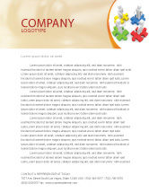 Business Concepts: Working Relationship Letterhead Template #06096