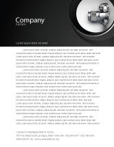 Careers/Industry: Digital Photo Camera Letterhead Template #06121