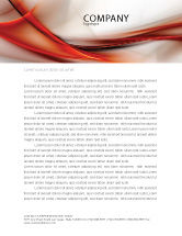 Abstract/Textures: Abstract Veil Letterhead Template #06248