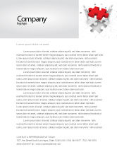 Consulting: Handling Letterhead Template #06255