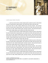 Legal: Lady Justice Letterhead Template #06281