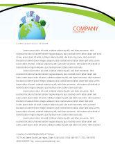 Nature & Environment: Modello Carta Intestata - Città verde #06283