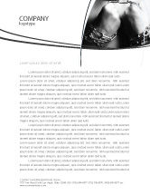 Consulting: Chained Man Letterhead Template #06319