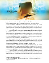 Technology, Science & Computers: Computer Media Letterhead Template #06320