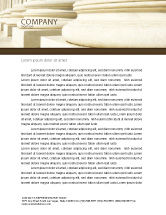 Construction: Doric Columns Letterhead Template #06332