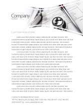 Medical: Medical Record For Analysis Letterhead Template #06369