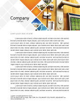 Careers/Industry: Absolutely Secure Letterhead Template #06413