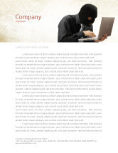 Legal: Hacking Letterhead Template #06485