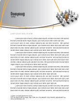 Education & Training: Relief Letterhead Template #06509