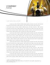 Business Concepts: Fallen Skittles Letterhead Template #06514