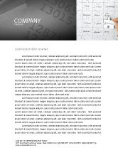 Consulting: Financial Planning Letterhead Template #06534