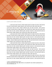 Financial/Accounting: Turnkey House Letterhead Template #06556