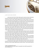 Art & Entertainment: Film Reel In Light Brown Color Letterhead Template #06599