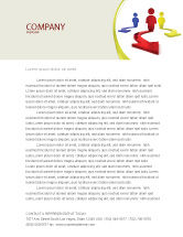 Business Concepts: Life Choices Letterhead Template #06753