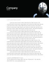 Business Concepts: Transmission Letterhead Template #06760