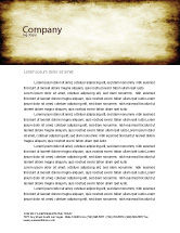 Abstract/Textures: Rusty Background Letterhead Template #06808