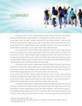 Education & Training: School Kids Letterhead Template #06830