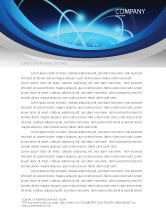 Technology, Science & Computers: World Infosphere Letterhead Template #06885
