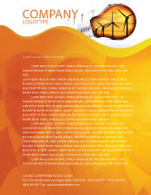 Careers/Industry: Energy Saving Technologies Letterhead Template #06908