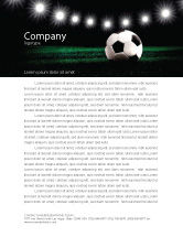 South african letterhead templates in microsoft word adobe sports football stadium in the night letterhead template 06916 spiritdancerdesigns
