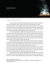 Education & Training: Flying Pages Letterhead Template #06947