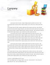 Education & Training: Computer Training Letterhead Template #06990