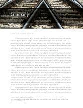 Cars/Transportation: Railways Letterhead Template #07027