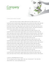 Nature & Environment: Bio Cosmetics Letterhead Template #07032