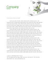 Nature & Environment: Templat Kop Surat Kosmetik Bio #07032