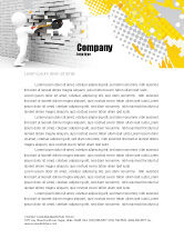 Business Concepts: Breaking the Wall Letterhead Template #07058