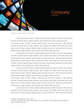 Careers/Industry: Image Store Letterhead Template #07060