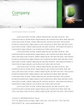 Global: Green Solutions Letterhead Template #07063
