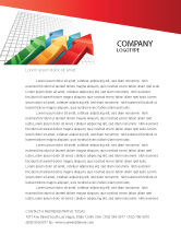 Business Concepts: Positive Results Letterhead Template #07064