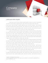 Consulting: Fitting the Part Letterhead Template #07093