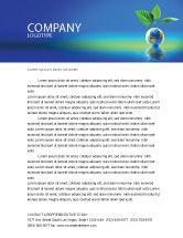 Global: Fertile Earth Letterhead Template #07199