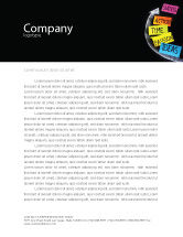 Education & Training: From Ideas to Success Letterhead Template #07260