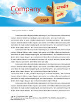 Financial/Accounting: Credits and Loans Letterhead Template #07279