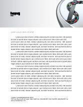 Cars/Transportation: Transportation Of Money Letterhead Template #07281