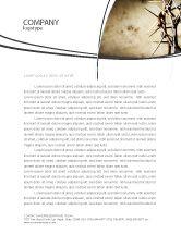 Religious/Spiritual: Thorns Letterhead Template #07326
