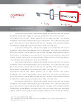 Consulting: Key Opportunity Letterhead Template #07495