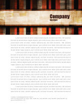 Abstract/Textures: Abstract Bars Letterhead Template #07512
