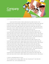 Careers/Industry: Students Team Letterhead Template #07551