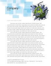 Utilities/Industrial: Umweltschutz Briefkopf Vorlage #07574