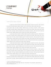 Financial/Accounting: Debt Liquidation Letterhead Template #07587
